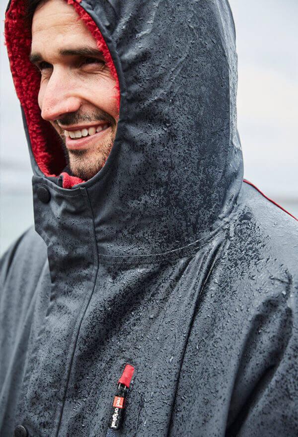 lifesaver in grey red original pro change jacket