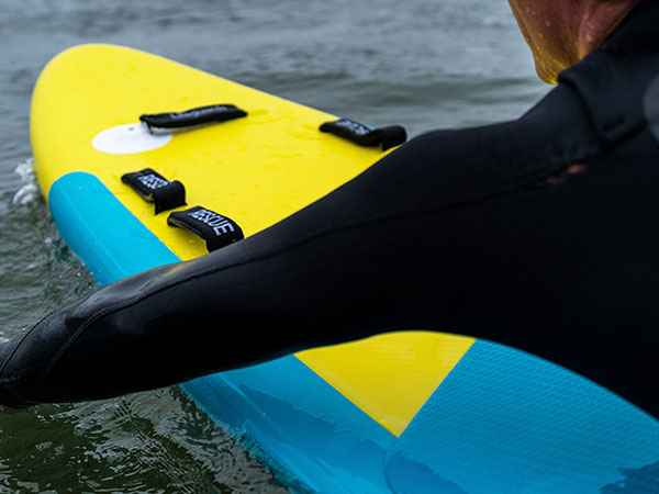 paddling surf-lifesaving rescue board